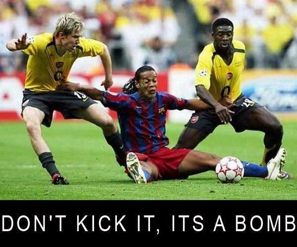 Best Sports Photos Of 2012: Soccer Memes: Best Way To Stop...xD
