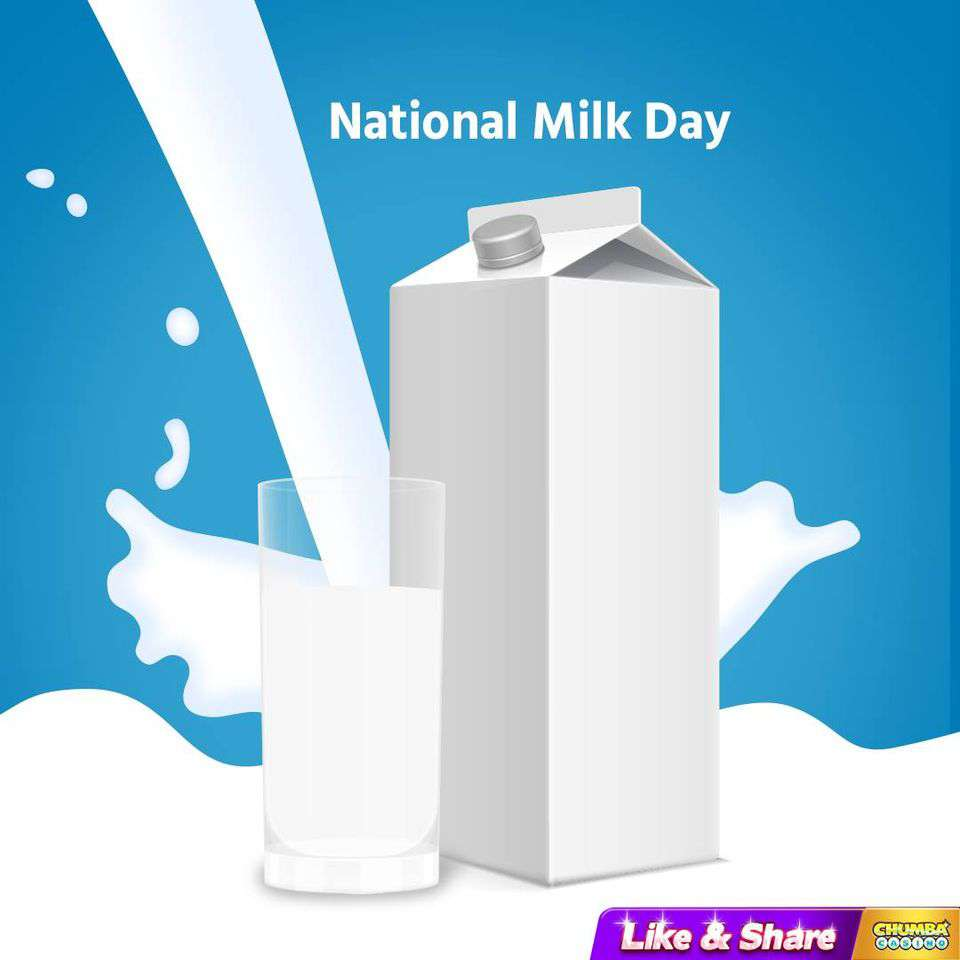 National Milk Day Wishes Awesome Picture