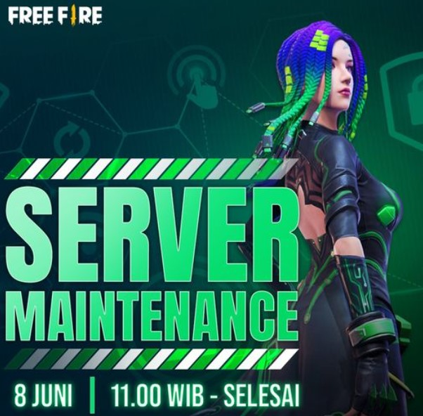 Free Fire Maintenance 8 Juni 2021