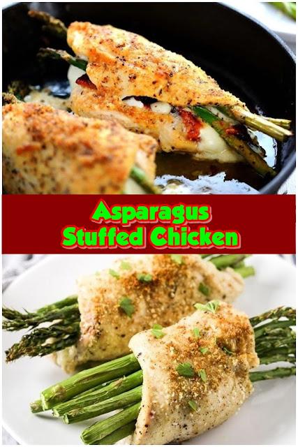 #Asparagus #Stuffed #Chicken