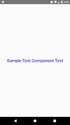 React Native Strikethrough Text Using the StyleSheet