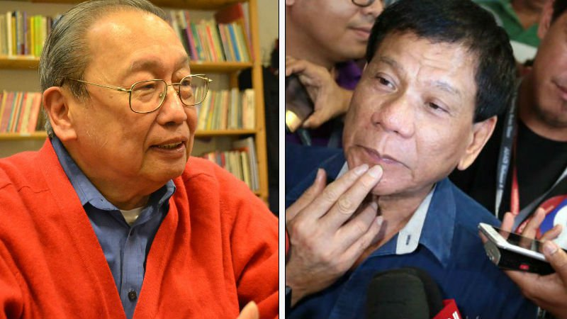 Mayor Rody talks about peace with CPP-NPA Head Joma Sison