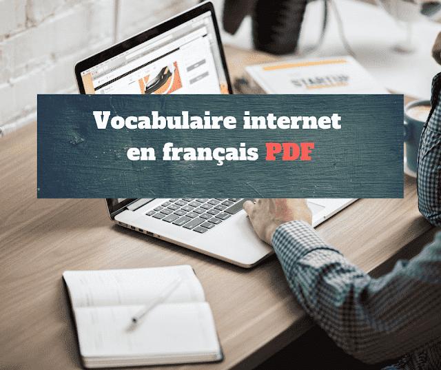 Vocabulaire internet en français