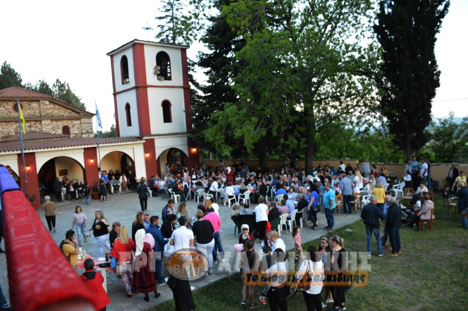 Η γιορτή της μοναστηριακής κουζίνας στην Μεγάλη Παναγία Χαλκιδικής  (Βίντεο)