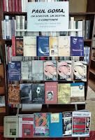 """expoziția de carte cu genericul: """"Paul Goma: un scriitor, un destin, o conștiință"""""""