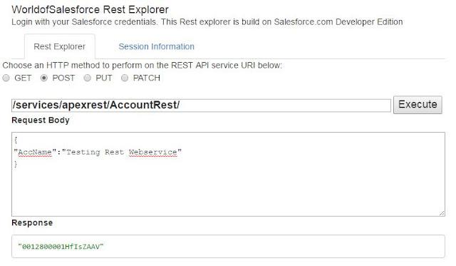 Salesforce Rest Explorer