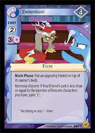 My Little Pony Detention! Friends Forever CCG Card