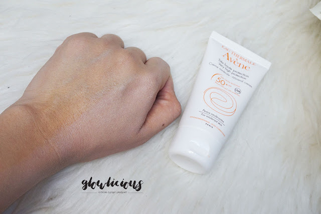 Color Texture Scent  Avene Sunblock Very High Protection Mineral Cream SPF50+ 50ml | Rp. 428.000