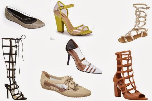 515ea007d5 Coleções de Primavera Verão 2013-2014.Sandálias gladiadora e com ...