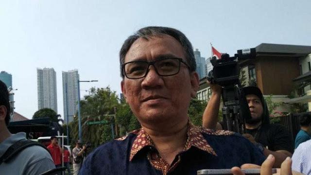 Sindir Prabowo Cs, Andi Arief Heran Status BUMN Dipersoalkan