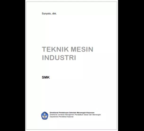 Buku SMK Teknik Mesin Industri