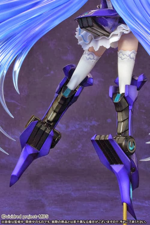 FIGURE VIVID BLUE Vividred Operation Griffon Enterprises