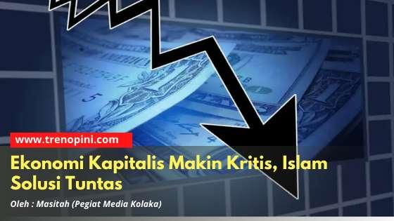 Ekonomi Kapitalis Makin Kritis, Islam Solusi Tuntas