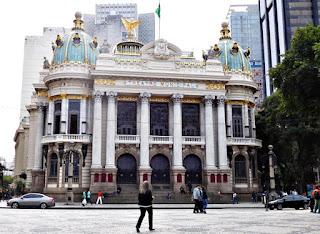 Foto 一井 潤一- Matéria Theatro Municipal do Rio de Janeiro - BLOG LUGARES DE MEMÓRIA