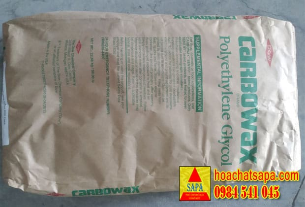 PEG 4000 Dow | Carbowax Polyethylene Glycol