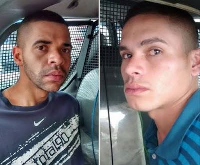 Após roubo no Parque Central, ROMU de Santo André fecha o cerco e detém dois ladrões que atuavam no local