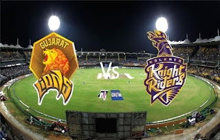 gujarat vs kolkata third match ipl 2017