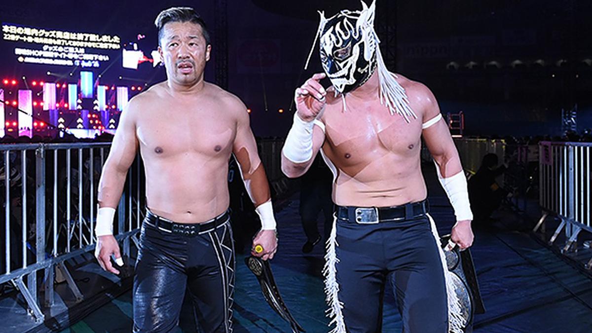 El Desperado e Yoshinobu Kanemaru conquistam o IWGP Junior Heavyweight Tag Team Championship