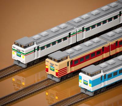 Voxel Passenger Trains
