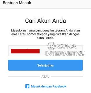 Cara Mudah Mereset Password Instagram Karena Lupa Kata Sandi Melalui Aplikasi 2