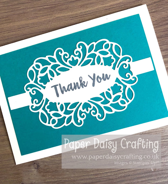 Stampin Up Detailed Bands