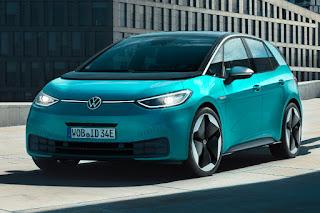 Volkswagen ID.3 (2020) Front Side