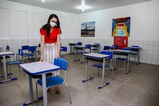 No Piauí escolas com aulas presenciais tem 263 professores com Covid-19