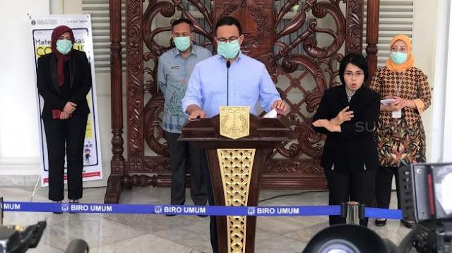 Gubernur Anies Instruksikan Wali Kota Lakukan Lockdown Mandiri di Kelurahan