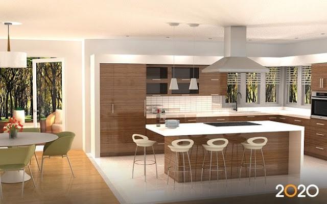 مطبخ عصري مميز مودرن تصميم وموديل 2020