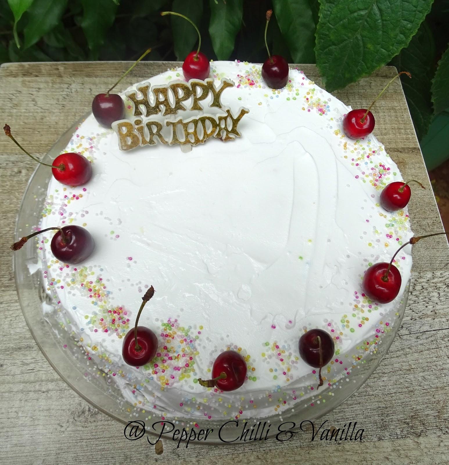Tres Leche Cake Pepper Chilli And Vanilla