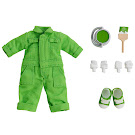 Nendoroid Colorful Coveralls, Lime Green Clothing Set Item