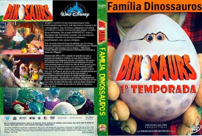 Seriado Família Dinossauros 1º Temporada DVD Capa