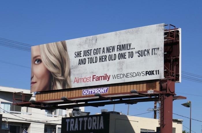 suck it Almost Family billboard