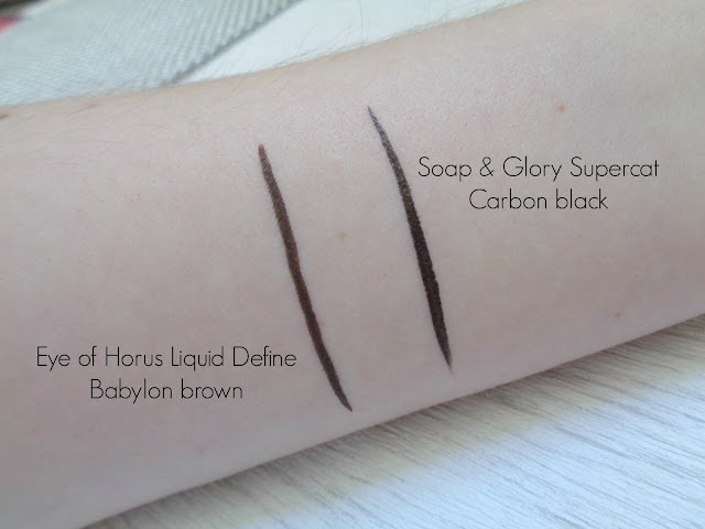 Eye of Horus Liquid Define eye liner in Babylon brown