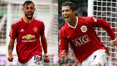 Comparing Bruno Fernandes' first 50 Man Utd games with Ronaldo's last 50