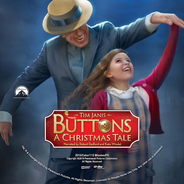 Buttons: A Christmas Tale DVD Label