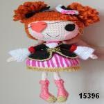 patron gratis muñeca pirata amigurumi, free pattern amigurumi pirata doll
