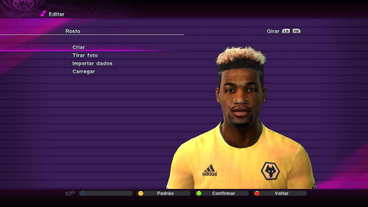 Ultigamerz Pes 2010 2011 Adama Traore Wolves Face