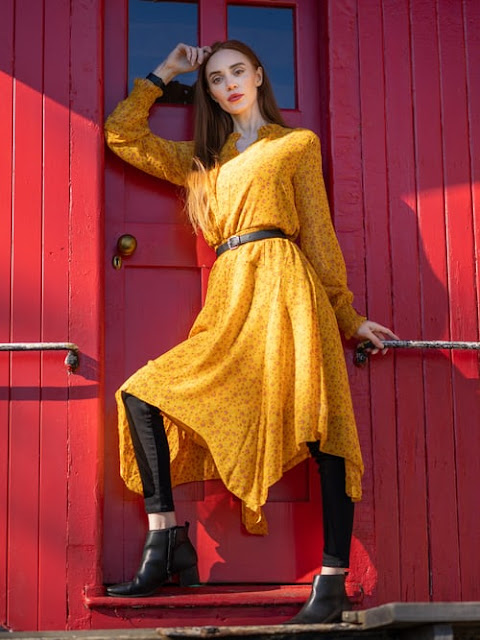 female model photoshoot poses