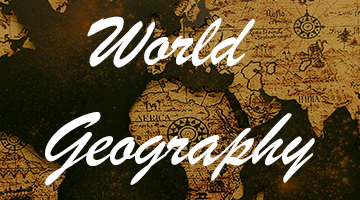 General Knowledge - World Geography Section - 1