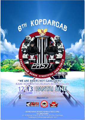 KOPDARGAB KE-6 PHSJT : WE ARE BIKERS NOT GANGSTERS DAN ULANG TAHUN KE-3 PHSJT