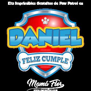 Logo de Paw Patrol: DANIEL
