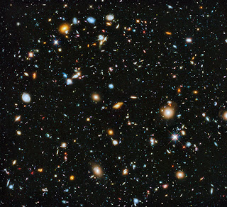 How far has humanity reached on the scale of the Universe ?