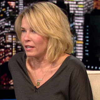 Chelsea Handler Gold Necklace