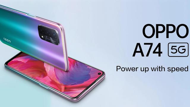 OpPPO A74 5G Best camera phone