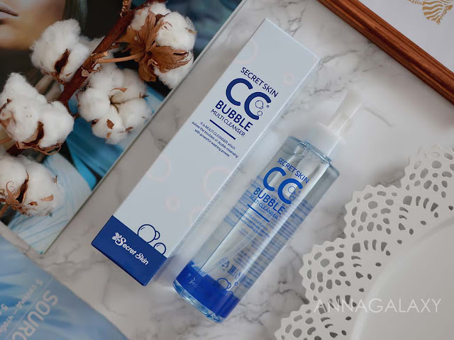 Отзыв на Средство для снятия BB и CC кремов Secret Skin CC Bubble Multi Cleanser