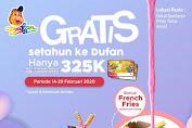 Dufan Promo Annual Pass Gratis Setahun Masuk Dufan Hanya 325 K Periode 14 - 29 Februari 2020