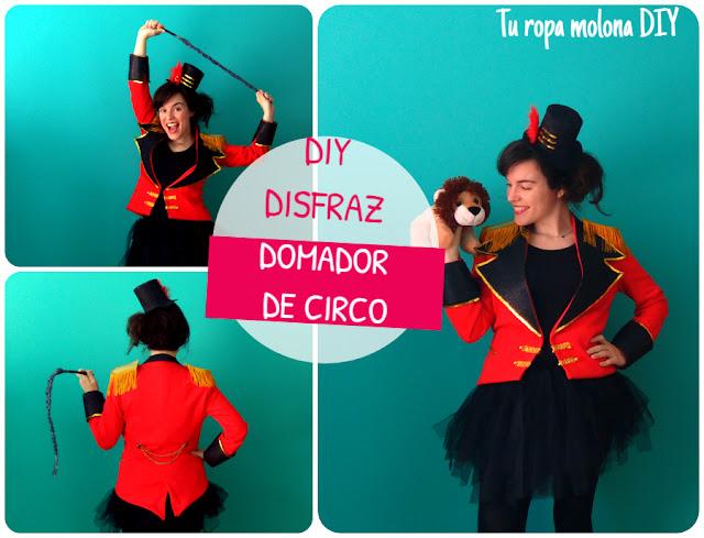 DIY: disfraz domadora circo