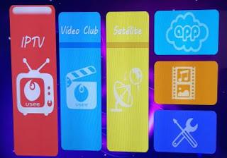 IPTV  menu iris