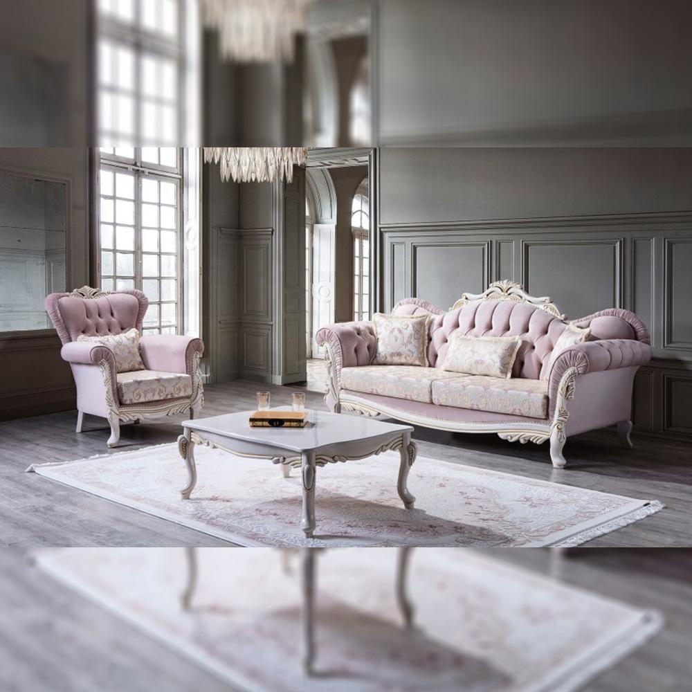 Sofa Tamu Mewah Ukiran Jepara Luxury Carving Terbaru Dan Termewah RM-0005